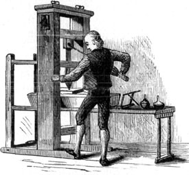 Gutenberg Printing Press