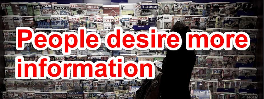 Desire information