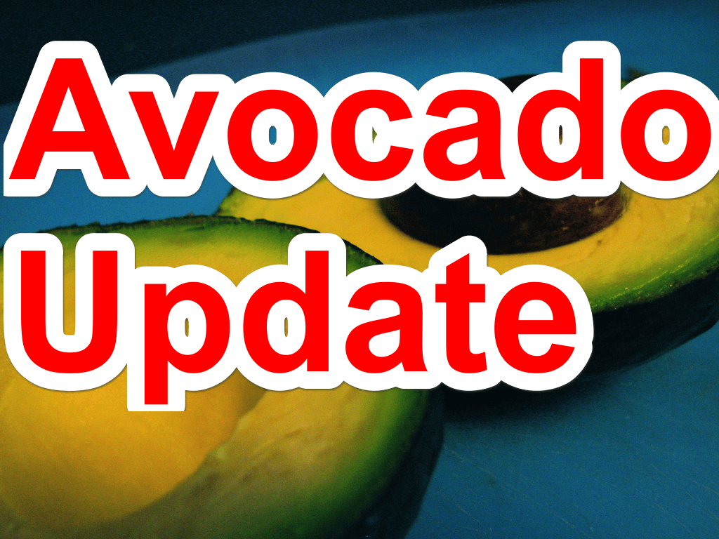 Avocado update